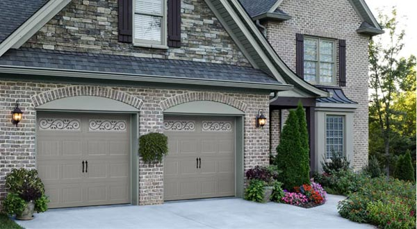 Carrage Garage Doors Light Gray
