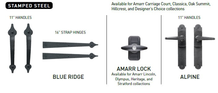 Amarr Door Hardware Amp Carriage House Garage Doors Hardware