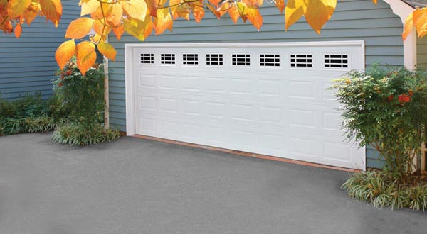 Traditional Double Wide Garage Door